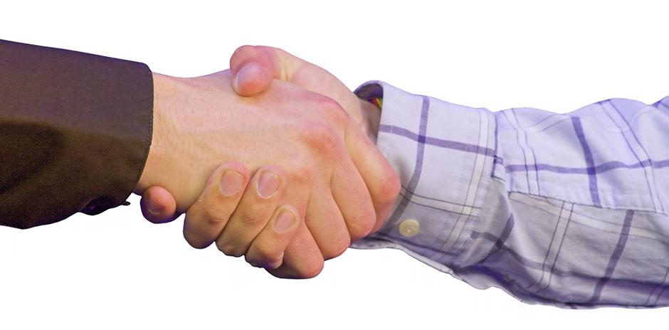 håndtrykk - kontrakter - avtaler, Advokat Vidar Sinding AS