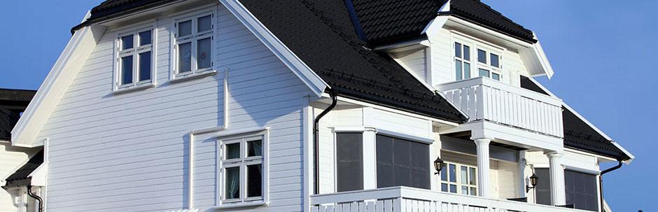 hvitt hus - bolig - eiendom, Advokat Vidar Sinding AS